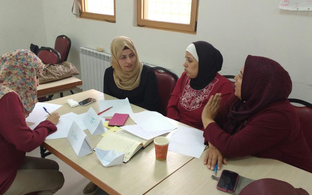 Promoció de la participació de les dones i de l'Estat de Dret a Palestina